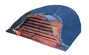 Eyebrow Copper Roof Vent / Dormer Vent