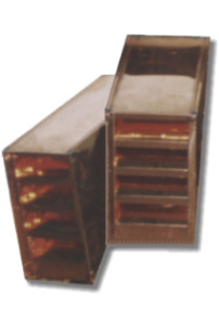 Rectangular Copper Roof Vent / Dormer Vent