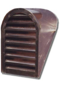 Tombstone Copper Roof Vent / Dormer Vent