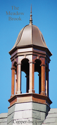 Signature Series Meadowbrook Copper Cupola