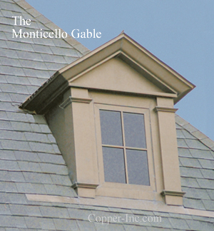Signature Series Copper Dormer Or Dormers Or Roof Vent Or